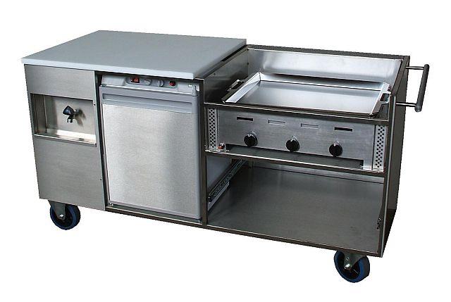 Buitenkeuken tuinkeuken cateringkeuken buffetwagen grillwagen - Keuken ontwikkeling m ...