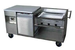 Buitenkeuken tuinkeuken cateringkeuken buffetwagen grillwagen - Keuken ontwikkeling in l ...