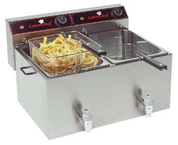 Betere Friteuses, vis-friteuse, frituur, frituurpan, friteuse en vis FW-97