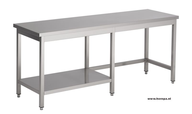 Rvs tafels werkbanken meubels werktafels spoeltafels ook maatwerk