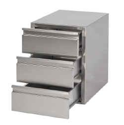 Rvs tafels werkbanken meubels werktafels spoeltafels ook for Ladenblok ikea