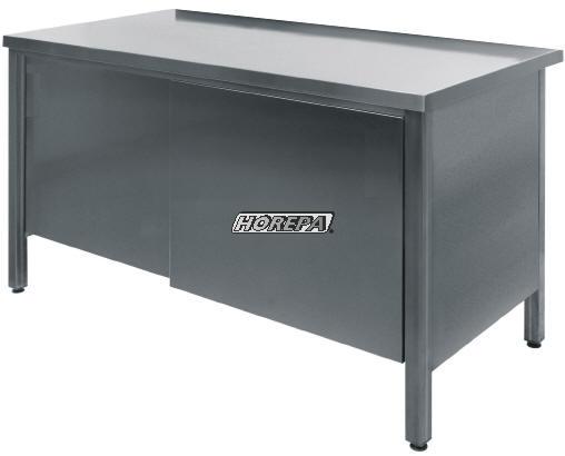 Kast Poten Rvs : Rvs werkbanken kasten meubels werktafel voor de horeca en