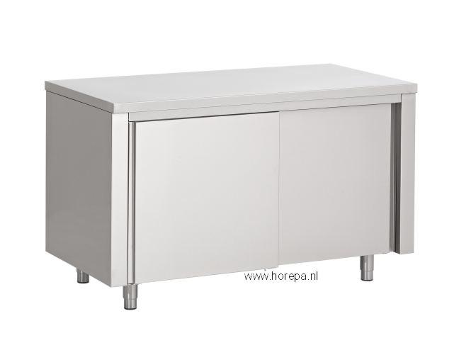 Kast Poten Rvs : Rvs tafels kasten werkbanken kasten meubels werktafels spoeltafels