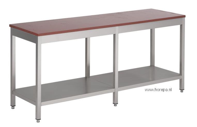 Rvs Tafels Werkbanken Meubels Werktafels Spoeltafels Ook
